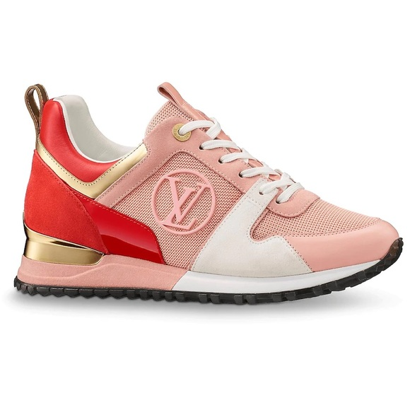 pink and red louis vuitton shoes